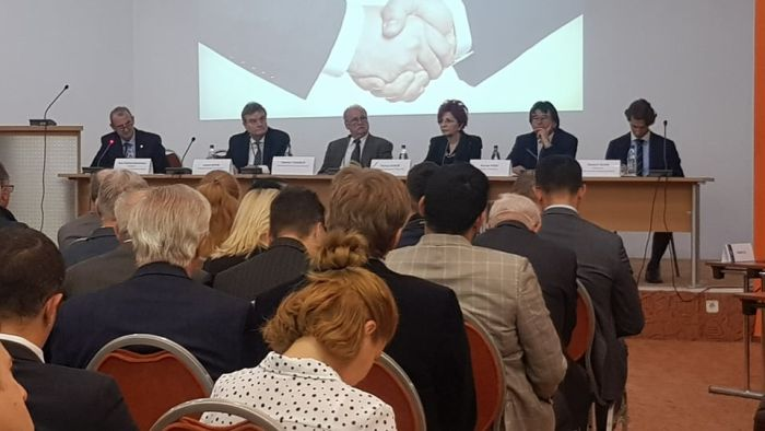 REUNION AT THE CHAMBER OF COMMERCE IN TIMISOARA
