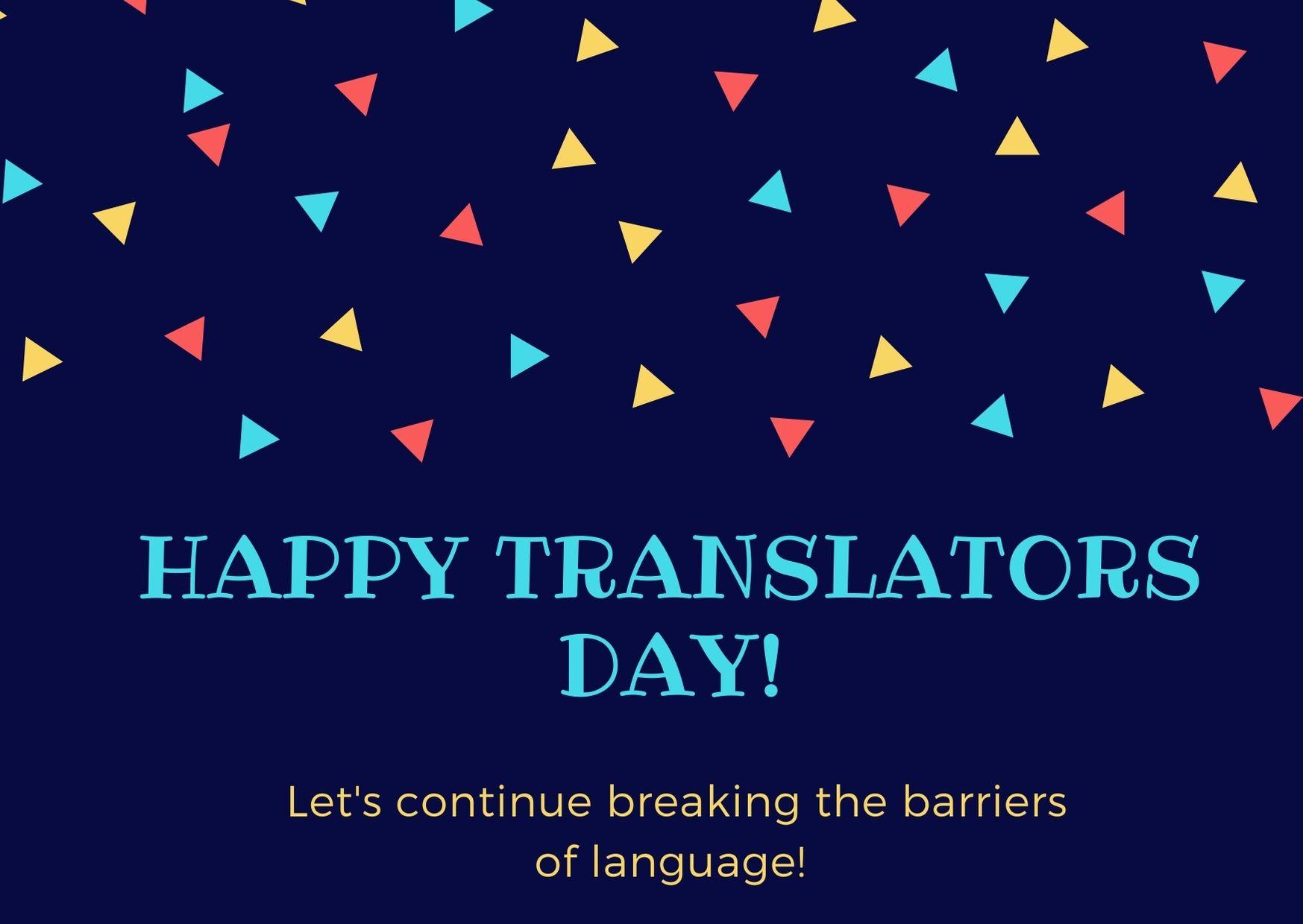 International Day of Translation